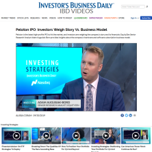 Adam on Investors Business Daily