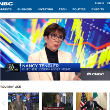 Nancy on CNBC clip - 1010