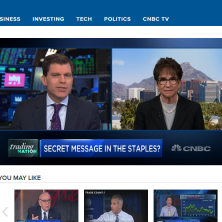 Nancy on CNBC clip - October 17