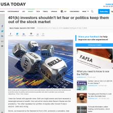 Nancy's USA Today column - September 25