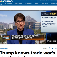Nancy on CNBC clip
