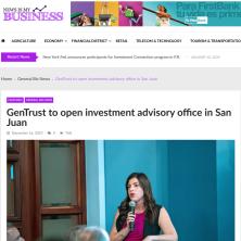 GenTrust News is my Business