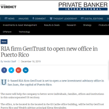GenTrust Private Banker
