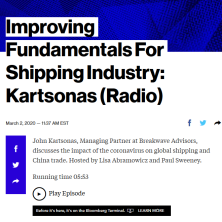 BDRY ETF John Kartsonas on Bloomberg Radio 3-2