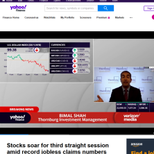 Bimal Shahon Yahoo Finance