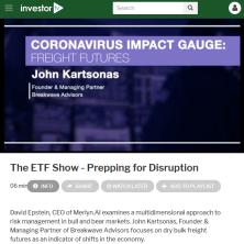 ETF Show at NYSE with John Kartsonas