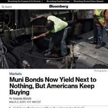 Nick quoted in Bloomberg