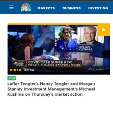 Nancy Tengler in CNBC