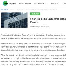 Nancy Tengler in ETF trends