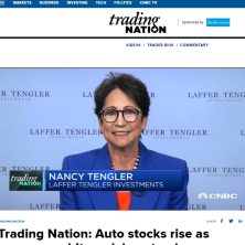 Nancy Tengler on CNBC Trading Nation